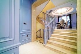 2016欧式风格蓝色楼梯设计赏析