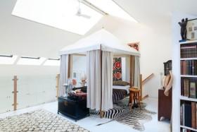 2016中式白色卧室吊顶设计赏析