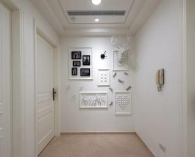 素雅简约风格照片墙图片