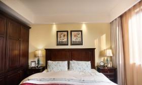 米色美式风格卧室衣柜装潢设计