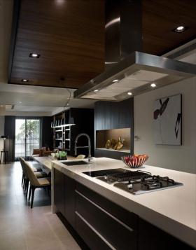 质感灰色简约风厨房装修赏析