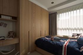 英伦欧式原木卧室衣柜效果图赏析