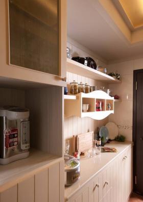 田园风格厨房橱柜装修