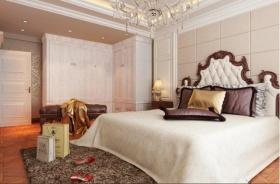 新古典风格米色卧室效果图赏析