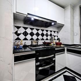 时尚混搭风格厨房橱柜效果图设计