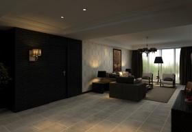 现代简洁风格客厅吊顶设计案例