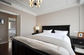 简洁中式风格卧室吊顶设计装修