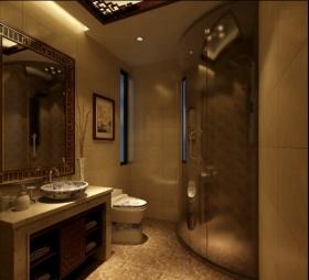 新古典风格米色温馨卫生间装修设计