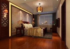 中式古典卧室吊顶装修美图赏析