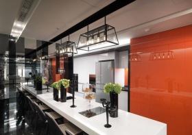 现代风格吧台装修案例
