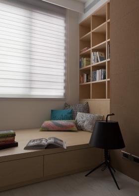 素雅现代风格飘窗设计图