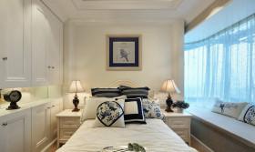 2016清新田园风格卧室飘窗设计欣赏