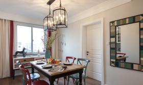 简约风格白色餐厅吊顶装饰案例