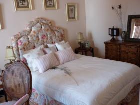 美式碎花卧室装修图片