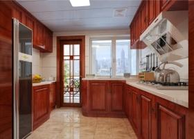 新古典风格质朴厨房装修图片