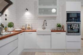 灰色欧式风格厨房图片赏析