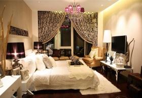 精致低奢浪漫雅致欧式卧室装潢设计