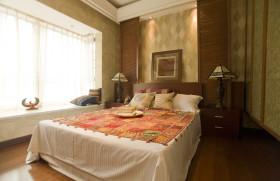 东南亚风格卧室飘窗图片赏析
