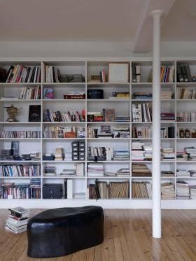 田园书房收纳装潢设计