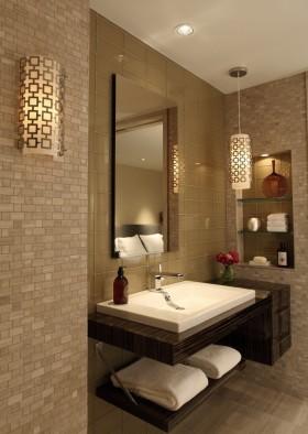 温馨米色新古典风格卫生间装修设计