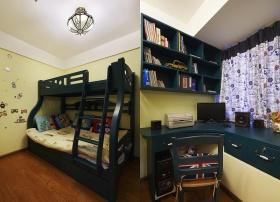 田园风格英伦范儿童房装修图片