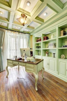 2016美式风格书房装潢案例