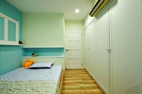 宜家风格绿色清新儿童房装修效果图片