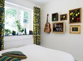 白色东南亚风格卧室效果图赏析
