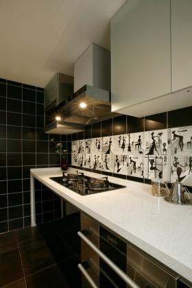 现代风格厨房橱柜设计案例