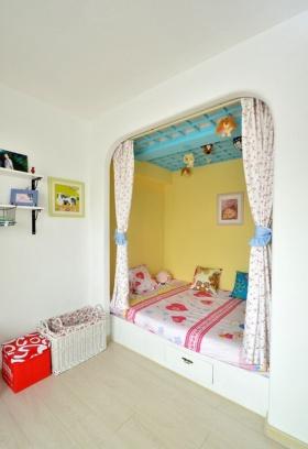 地中海风格白色儿童房设计装修