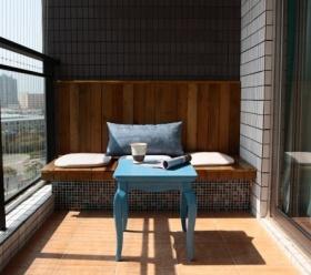 地中海休闲阳台设计装潢
