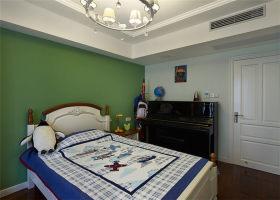 地中海风格清新绿色儿童房效果图欣赏