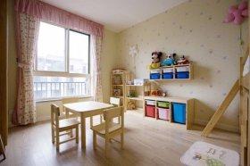 宜家风格清新米色儿童房图片欣赏