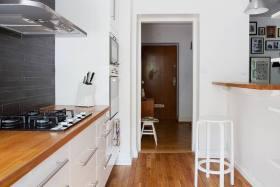 白色清新宜家风格厨房装修赏析
