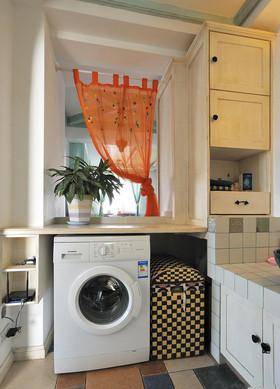 米色地中海洗衣室装修布置