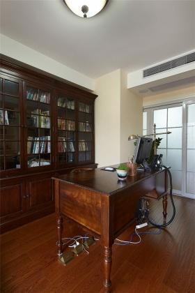 原木色中式书房装修设计赏析