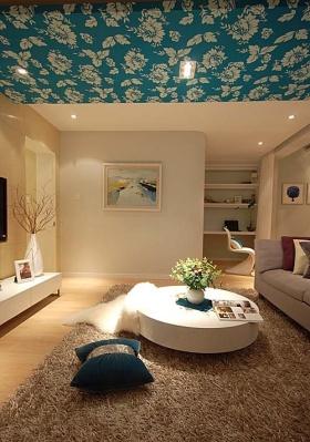 米色地中海客厅装修设计