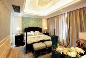 黄色田园风格卧室装修设计
