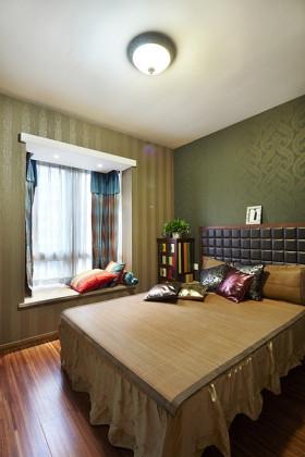 2016东南亚风格卧室飘窗美图