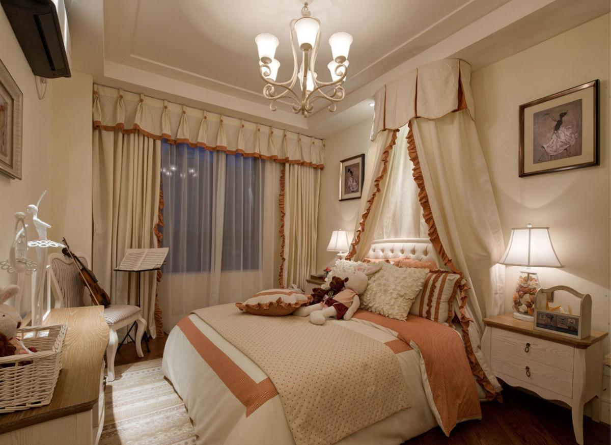 雅致欧式风格卧室吊顶装修效果图