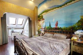 地中海风格浪漫黄色卧室装饰案例