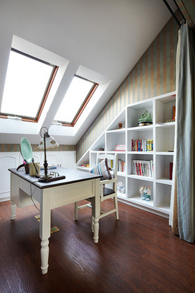 地中海风格书房装修布置