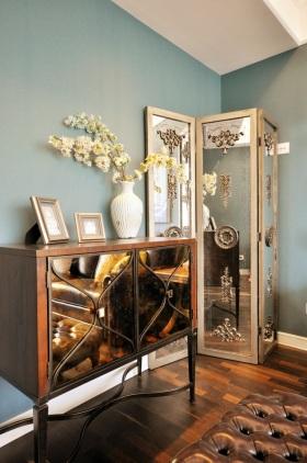 典雅新古典风格收纳柜精致装潢案例