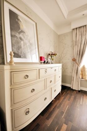 2016美式风格米色实用收纳柜装修