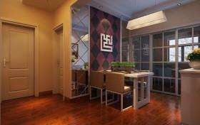 混搭风格餐厅装饰设计图片