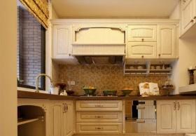 混搭风格橙色厨房设计欣赏