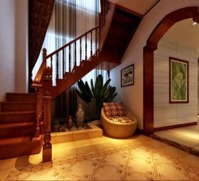 东南亚楼梯设计装修图片