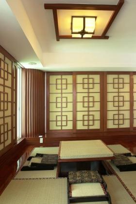 新古典雅致日式榻榻米装修效果图