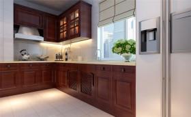 简洁新古典风格厨房设计装修