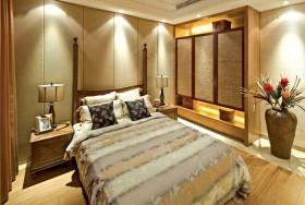 黄色新古典风格卧室图片欣赏